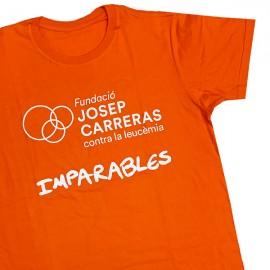 Camiseta solidaria contra el cáncer Fundación Josep Carreras para chico catalán