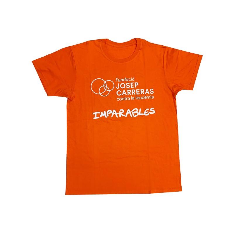 Camiseta imparables solidaria para hombre Fundación josep Carreras catalán