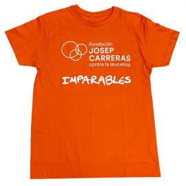Camiseta imparables solidaria para hombre Fundación josep Carreras