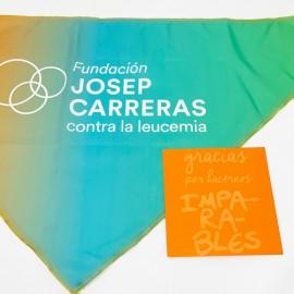 Regalo solidario contra el cáncer bandana Fundación Josep Carreras