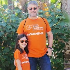 Camisetas solidarias contra el cáncer Fundación Josep Carreras Imparables