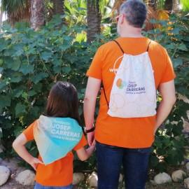 Regalos carrera solidaria contra la leucemia Fundación Josep Carreras catalán