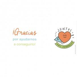 Tarjetas para comuniones y celebraciones Mr Wonderful con Fundación Josep Carreras