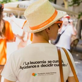 Samarreta solidària Posa-li data per a dona Fundació Josep Carreras