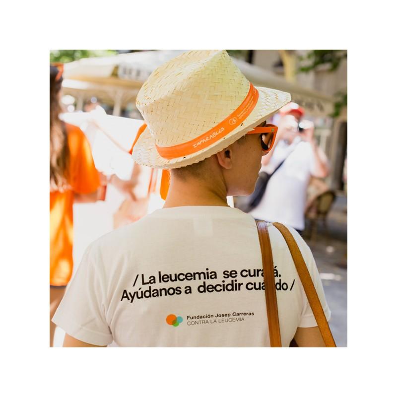 Camiseta solidaria Ponle fecha para mujer Fundación Josep Carreras