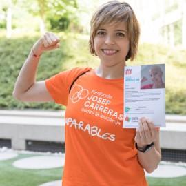 Samarreta solidària contra el càncer Fundació Josep Carreras