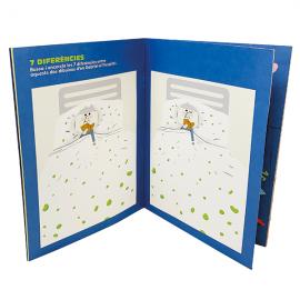 Joc 7 diferències quadern d'activitats El bebè forçut català