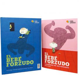 Conte El bebé forçut castellà y llibre d'activitats