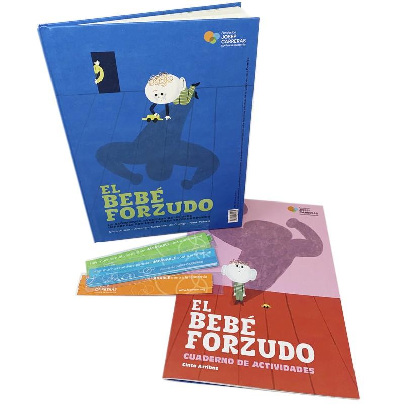 Pack regalo familiar solidario El bebé forzudo Fundación Josep Carreras