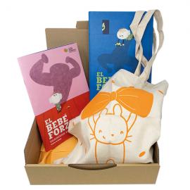 Pack regal solidari per a mares El bebè forçut Fundació Josep Carreras