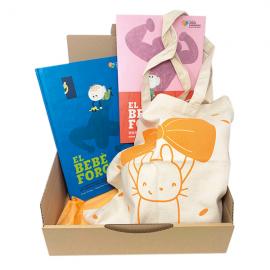 Pack regal solidari per a mares El bebè forçut Fundació Josep Carreras català