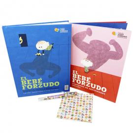Pack regalo infantil solidario contra la leucemia Fundación Josep Carreras