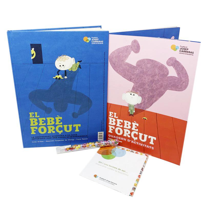 Pack regalo infantil solidario contra la leucemia Fundación Josep Carreras catalán