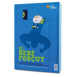 Libro infantil solidario El bebé forzudo Fundación Josep Carreras catalán