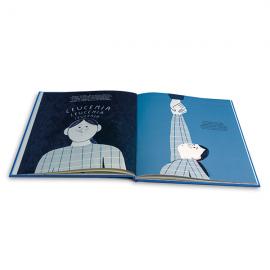Libro El bebé forzudo Fundación Josep Carreras catalán