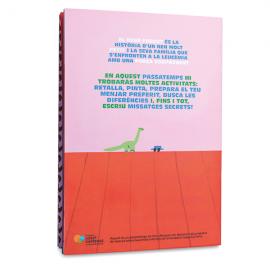 Cuaderno de actividades infantil solidario El bebé forzudo catalán