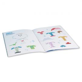 Libro actividades infantil solidario Fundación Josep Carreras