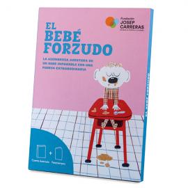 Pack conte y llibre d'activitats El bebè forçut castellà