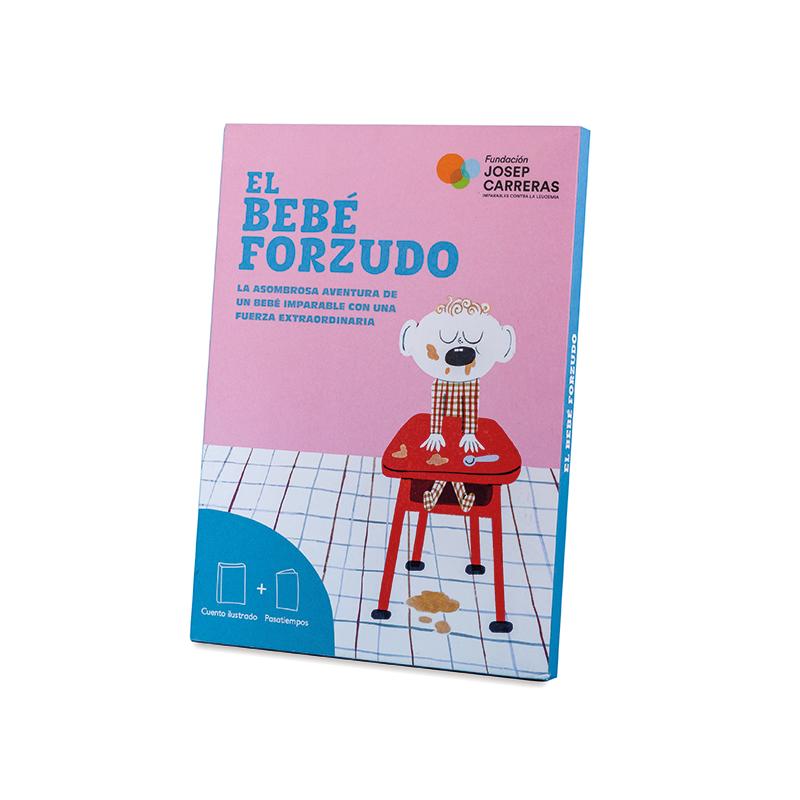 Pack cuento y libro de actividades El bebé forzudo