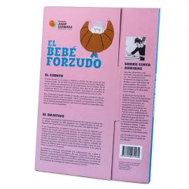 Pack conte i llibre solidari d'activitats castellà El bebè forçut