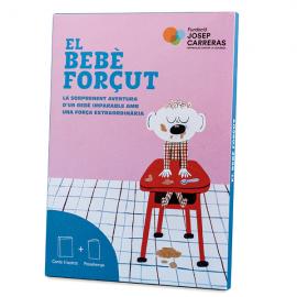 Pack conte y llibre d'activitats El bebè forçut català