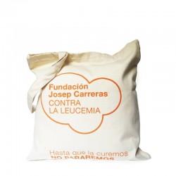 Bolsa Imparable solidaria de tela de algodón Fundación Josep Carreras
