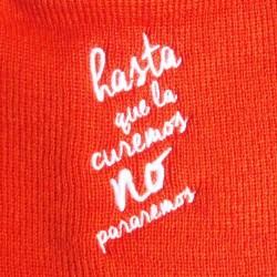 Gorro de punto bordado Fundación Josep Carreras