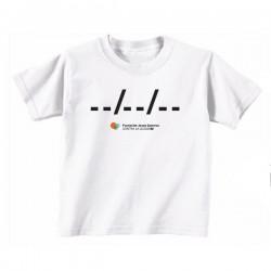 Camiseta niño Ponle fecha