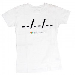 Camiseta chica solidaria contra el cáncer Ponle fecha Fundación Josep Carreras catalán