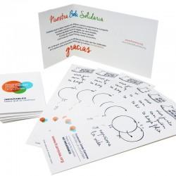 Pack 100 Marpáginas con tarjeta