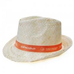 Sombrero panameño Fundación Josep Carreras catalán