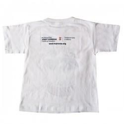 "Camiseta ""Sonrisas"" niño castellano"