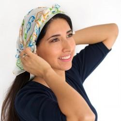 Pañuelo para el pelo imparable Fundación Josep Carreras catalán