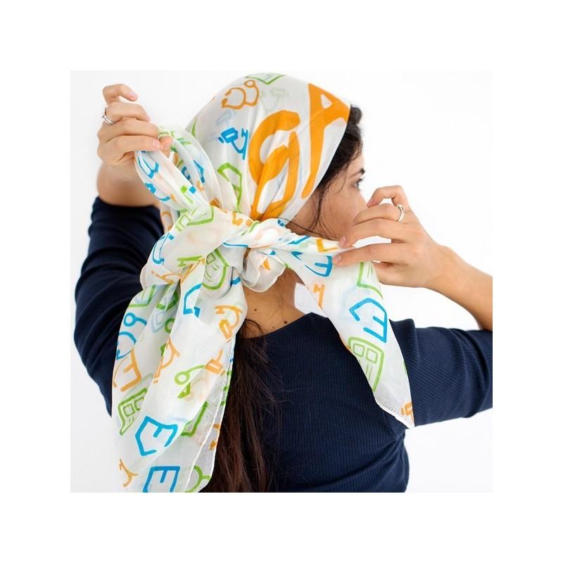 Pañuelo de seda para regalar imparable fundación josep carreras