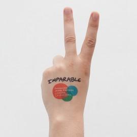 Regal solidari contra el càncer tatuatges originals Fundació Josep Carreras