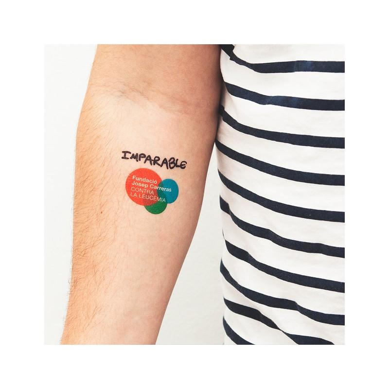 Tatuatges regals originals per a casaments i celebracions Fundació josep Carreras català