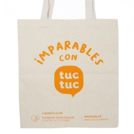 Bolsa Imparable Tuc tuc Fundación Josep Carreras