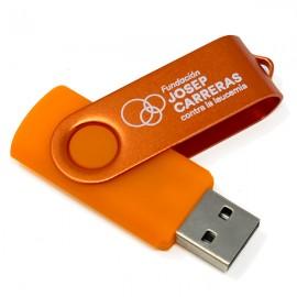 USB 8 GB solidario Fundación Josep Carreras