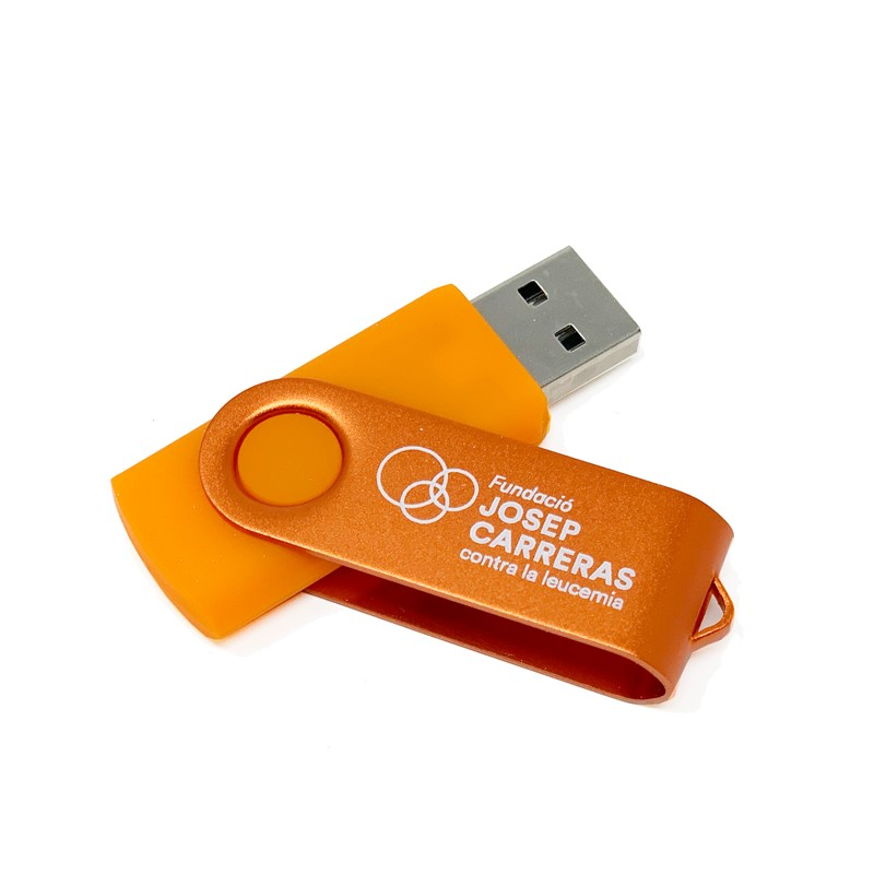 USB 8 GB solidario Fundación Josep Carreras catalán