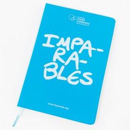 Llibreta solidària blau Fundació Josep Carreras